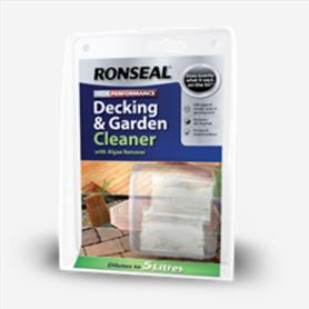 Ronseal decking and garden cleaner
