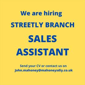streetly sales assistant