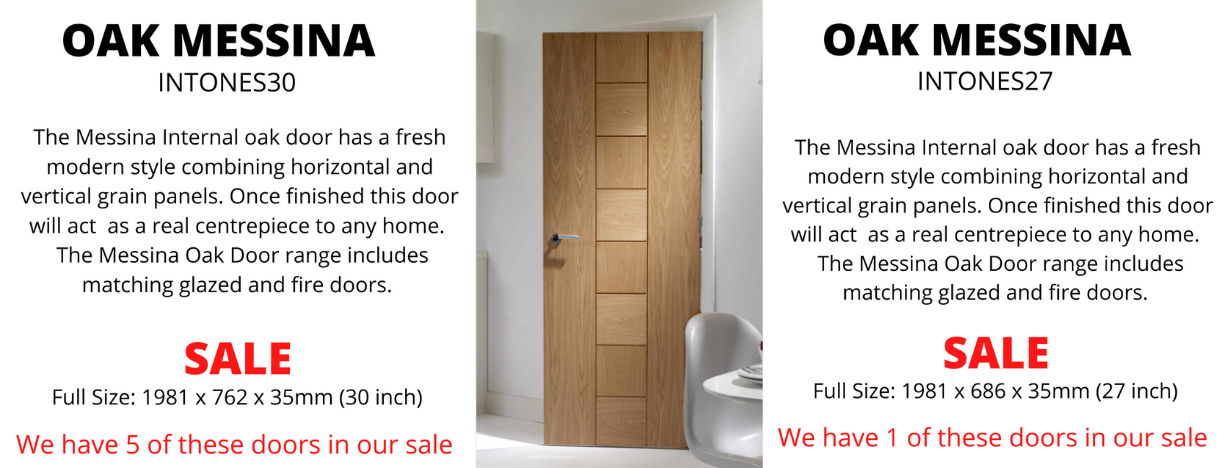 Messina Door Oak